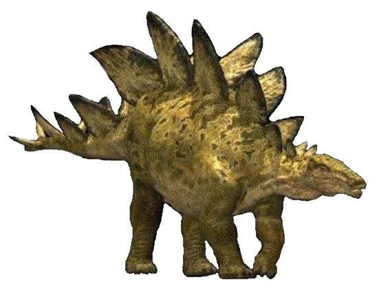Динозавры и Мир Юрского Периода №7 - Папа-Стегозавр + малыш-Анкилозавр