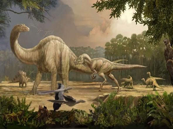 Появление динозавров на земле доклад 2678